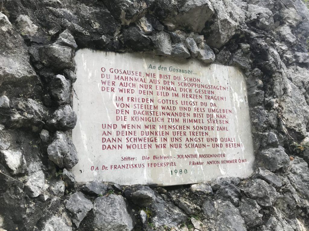 In Stein: Die Liebeserklärung an den Gosausee in Österreich