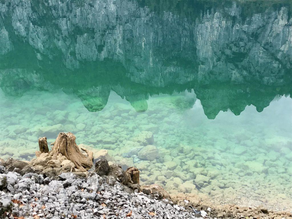 Glasklar und türkisgrün - der tolle See im Salzkammergut