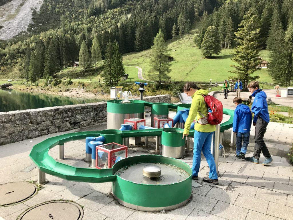 Vorderer Gosausee Rundweg - Erlebnisstation für Kinder